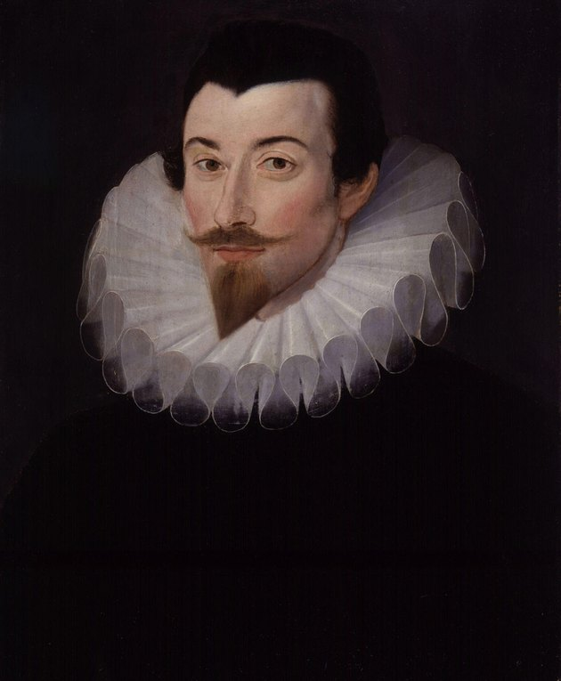 Portrait of John Harington by Hieronimo Custodis, c. 1590–93