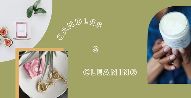 black-owned candles and cleaning