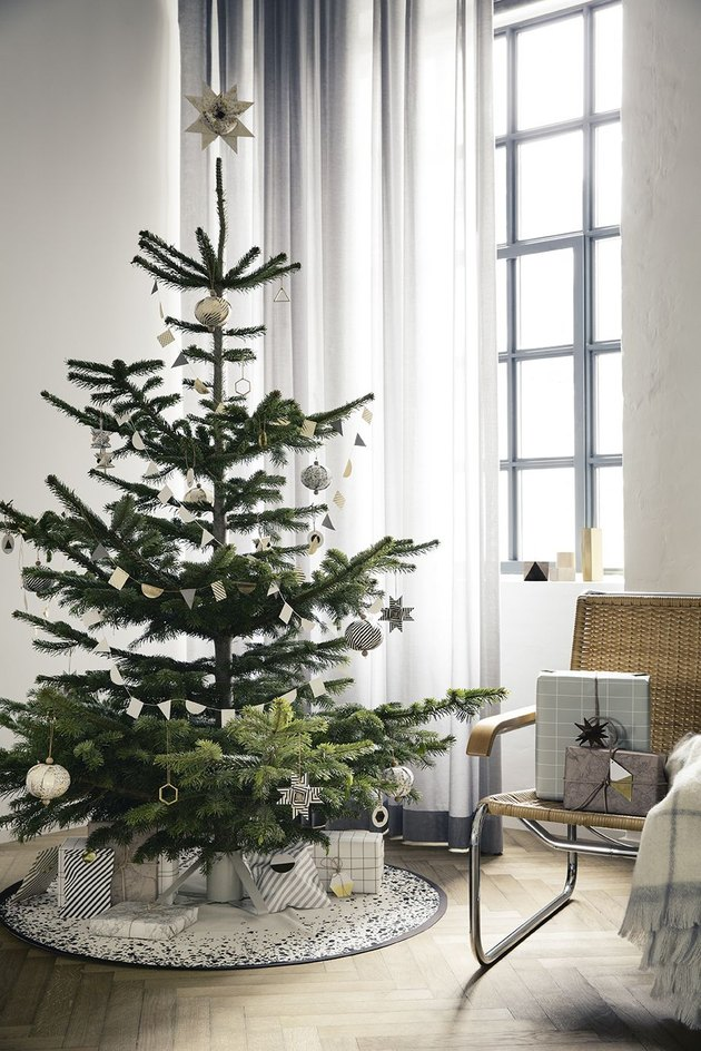 Scandinavian Christmas tree from Ferm Living