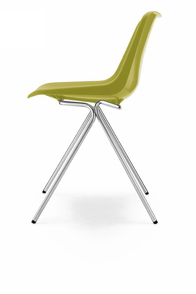 Hille's Robin Day-designed Polyside Chair, first launched in 1963