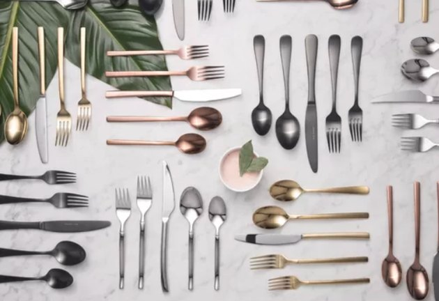 mint pantry agave flatware