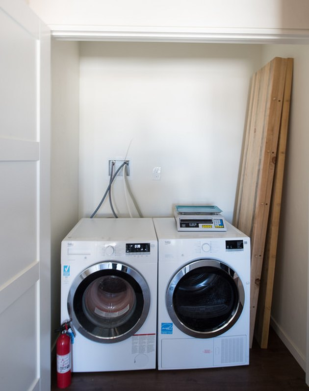 Washer dryer combo.