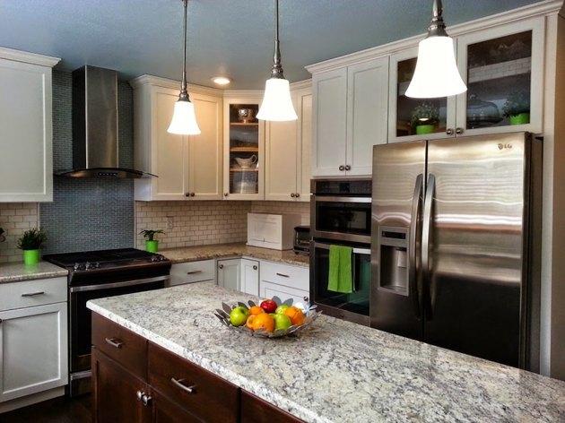 Kitchen cabinet renewal.
