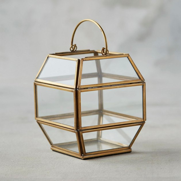 brass mini lantern