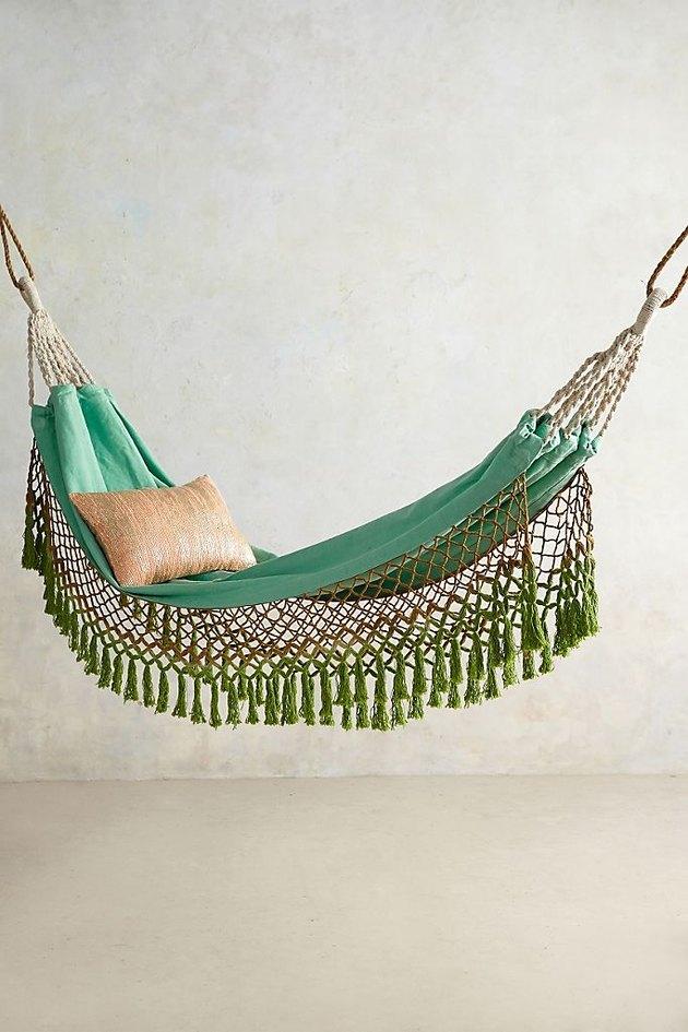 waterproof fringe outdoor hammock