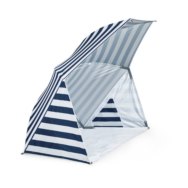 portable beach tent with umbrella shade
