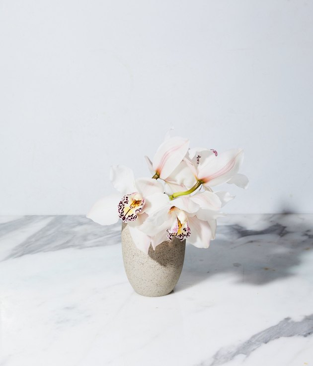 handmade stoneware and porcelain vase