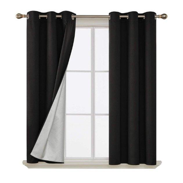 Deconovo Grommet Top Blackout Curtains