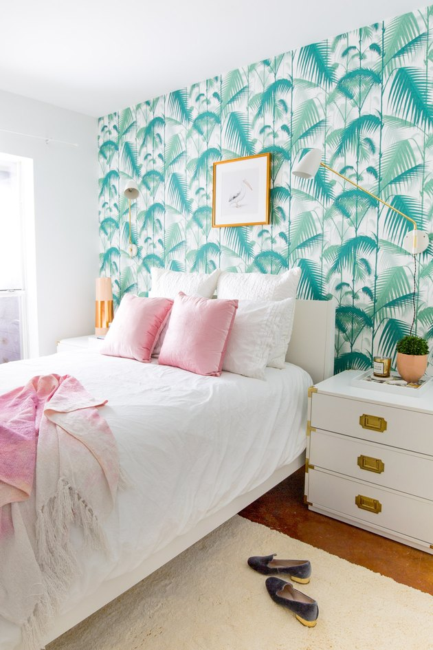 sugar and cloth tropical bedroom
