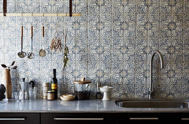 Boho Kitchen Backsplash