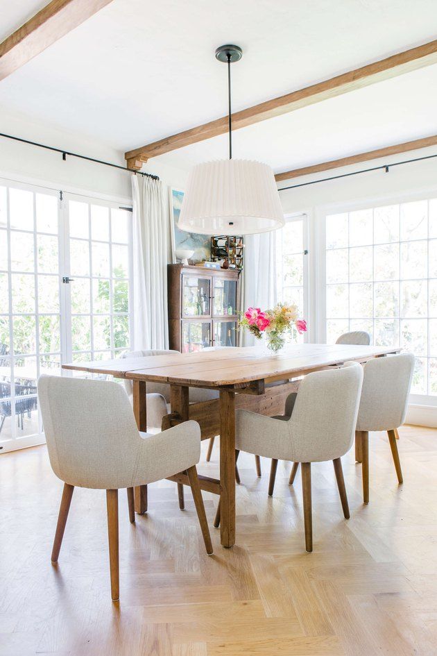 Emily Henderson updated traditional dining room look