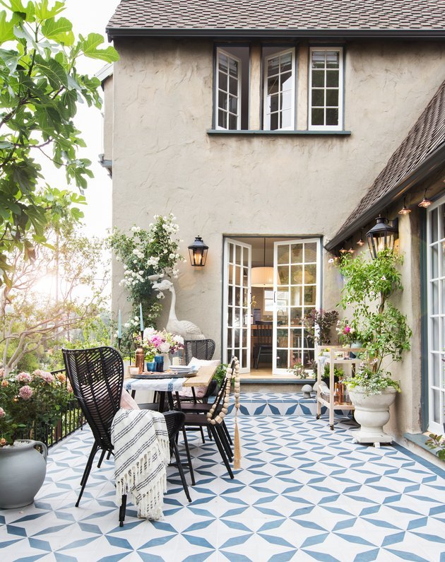 Mediterranean neutral stucco exterior home styles