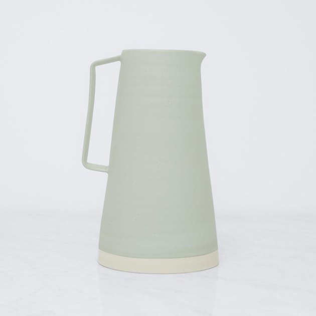 pale green pitcher