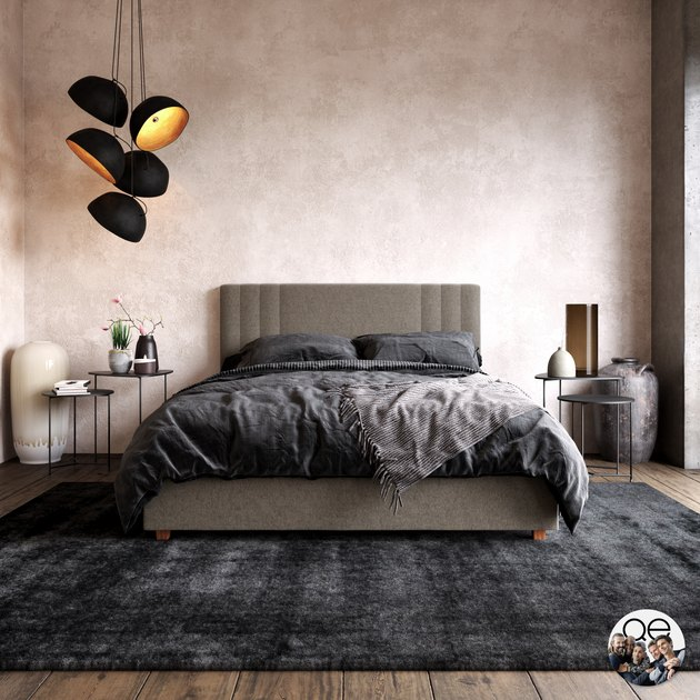 Charis Modern Upholstered Bed