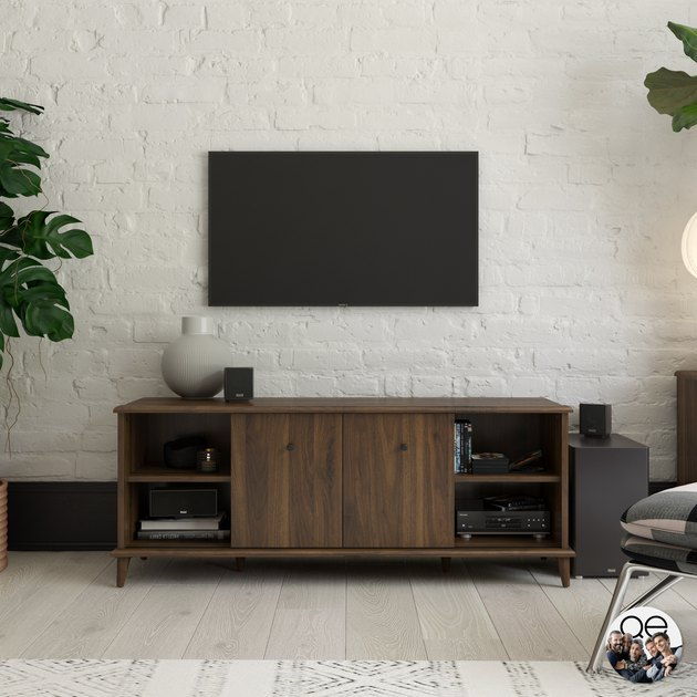 Queer Eye Farnsworth Mid-Century TV Stand, $210