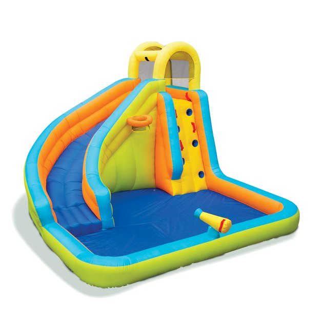 Banzai Splash 'N Blast Inflatable Water Slide Park