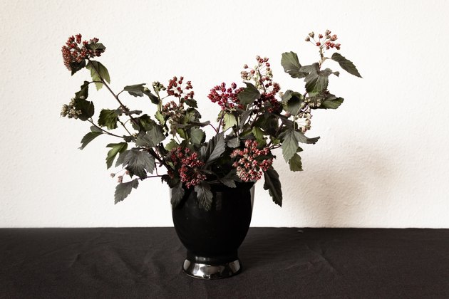 Spooky Holiday Floral Arrangement