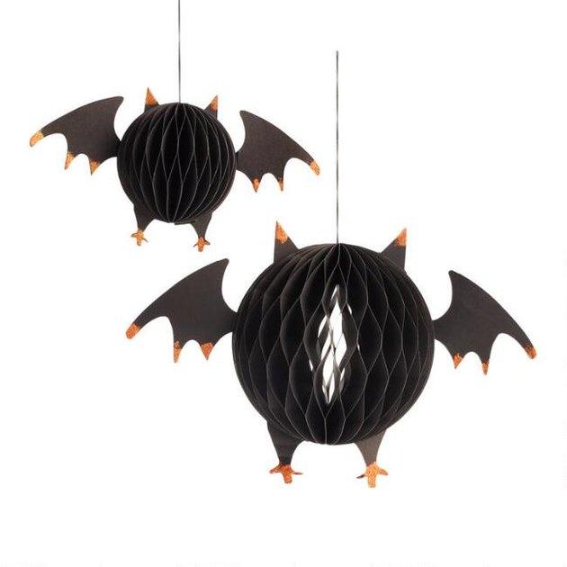 honeycomb paper bats