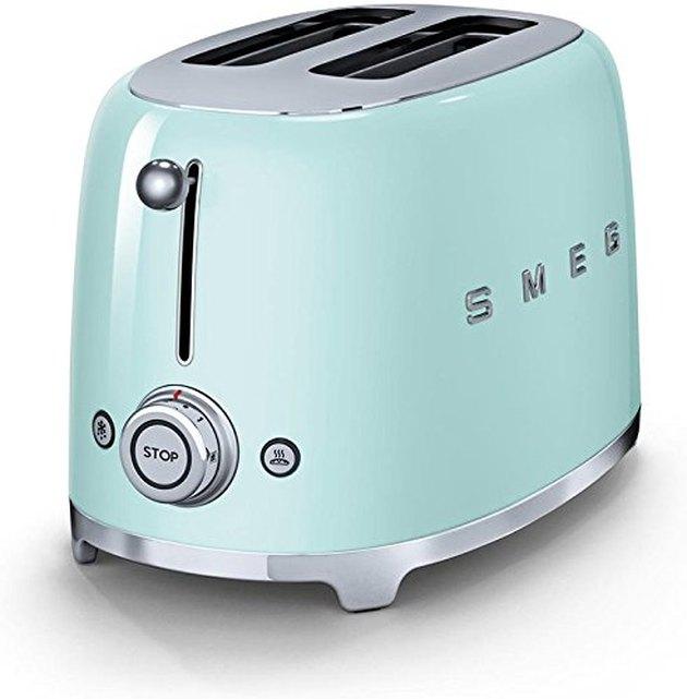 Smeg '50s Retro Style Aesthetic 2 Slice Toaster