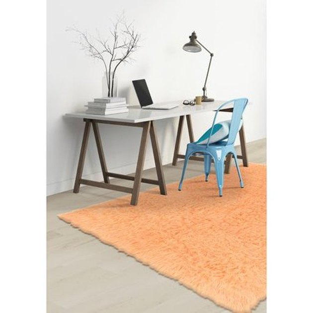 Harriet Bee Ducharme Hand-Woven Wool Sherbet Area Rug