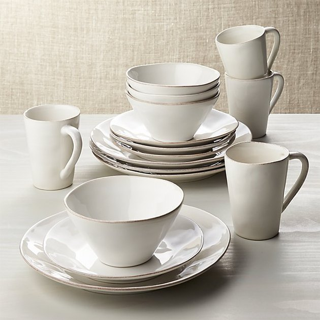 Crate & Barrel Marin 16-Piece Dinnerware Set