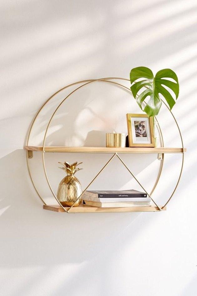 circle wall shelf