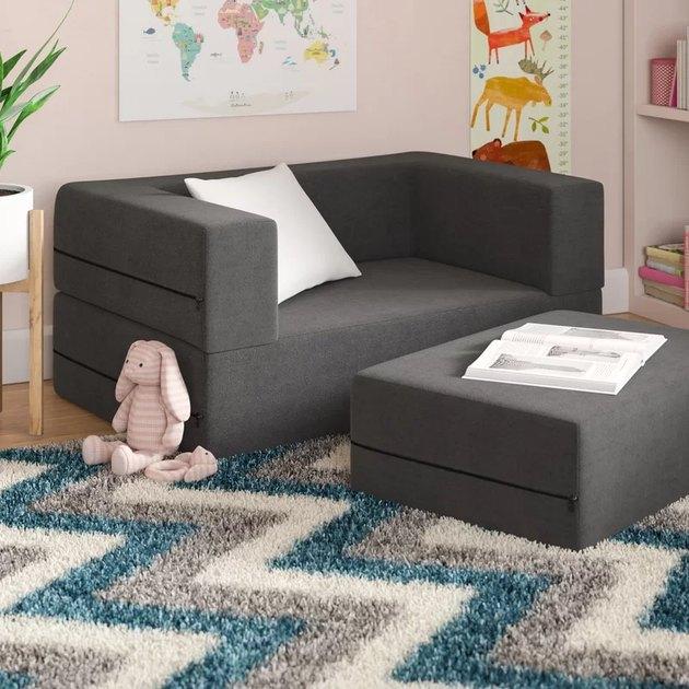 kids sofa and ottoman foldable
