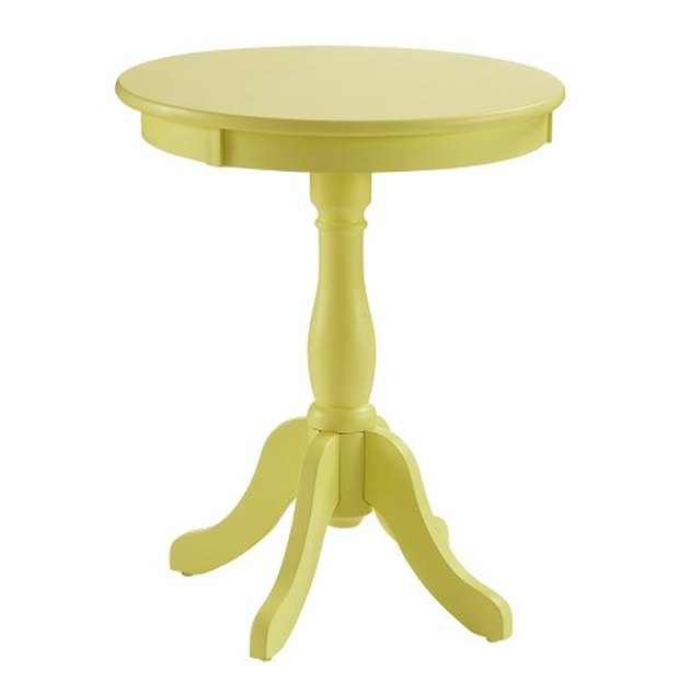 Palmetto Round End Table