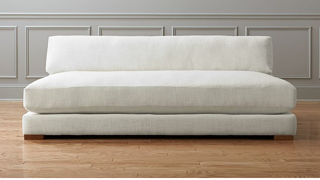 coastal sofa without arms by CB2