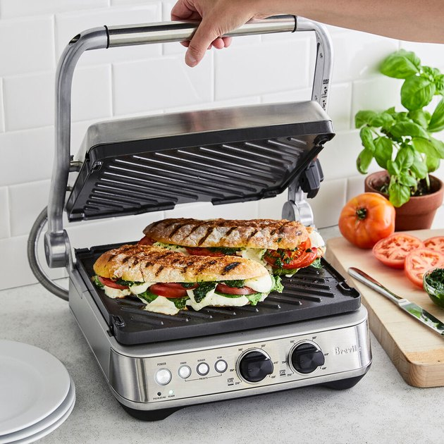 Breville Panini Press kitchen appliance for summer