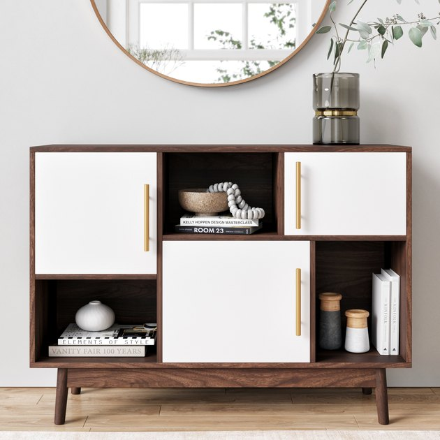 Nathan James Ellipse Brown Cube Storage, $140.79