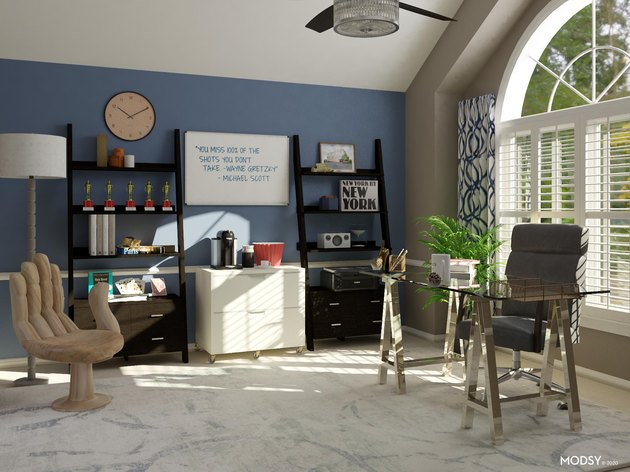 simple masculine office