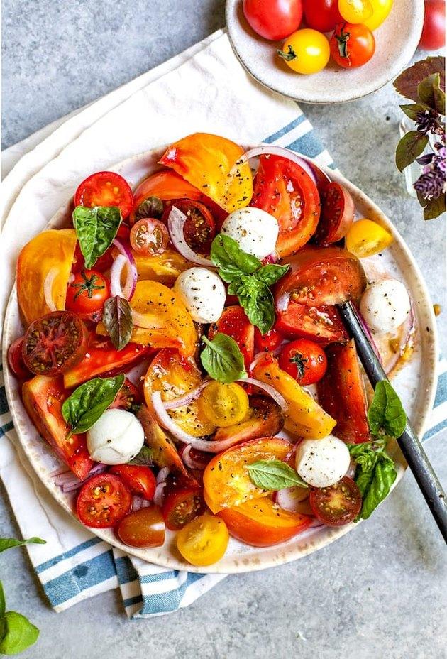 Tomato Salad by Two Peas & Their Pod
