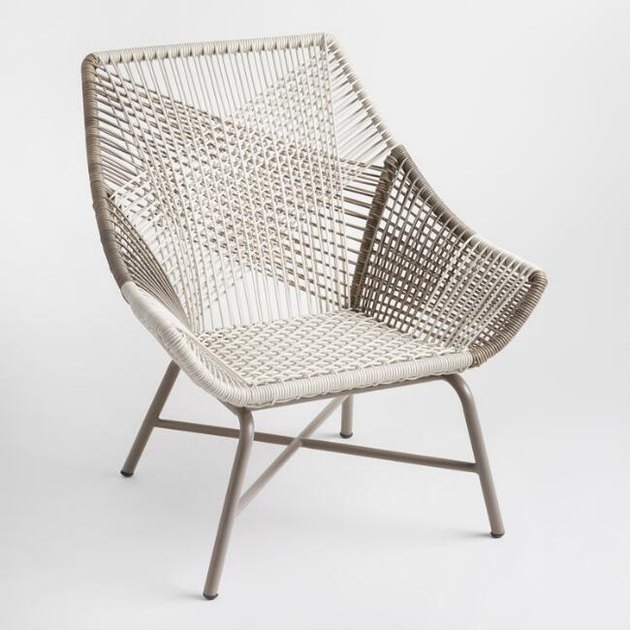 World Market Wicker Andalusia Outdoor Chair, $99.99