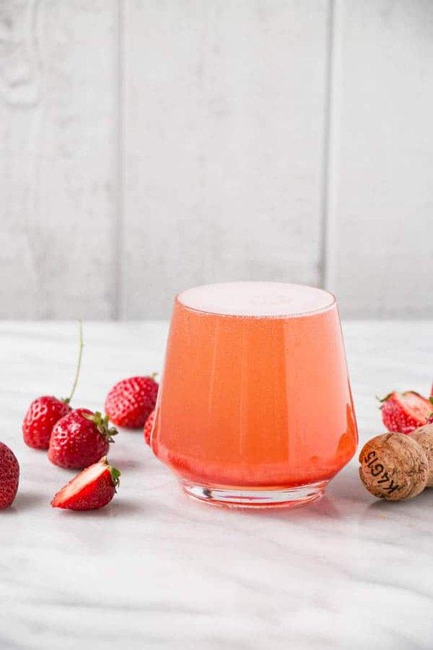 Strawberry Rosé Aperol Spritz by My Kitchen Love
