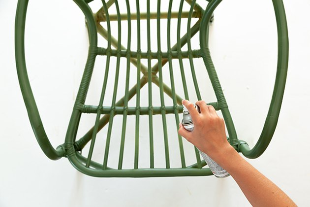 Painting Rattan furniture
