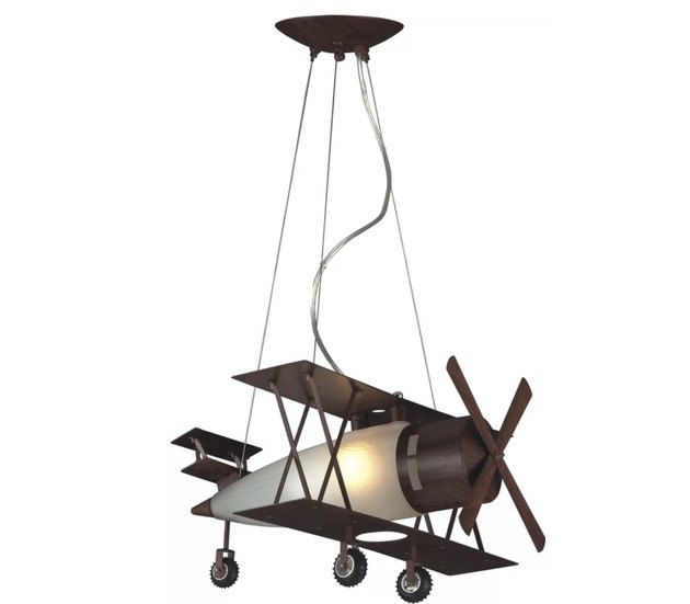 airplane pendant ceiling light