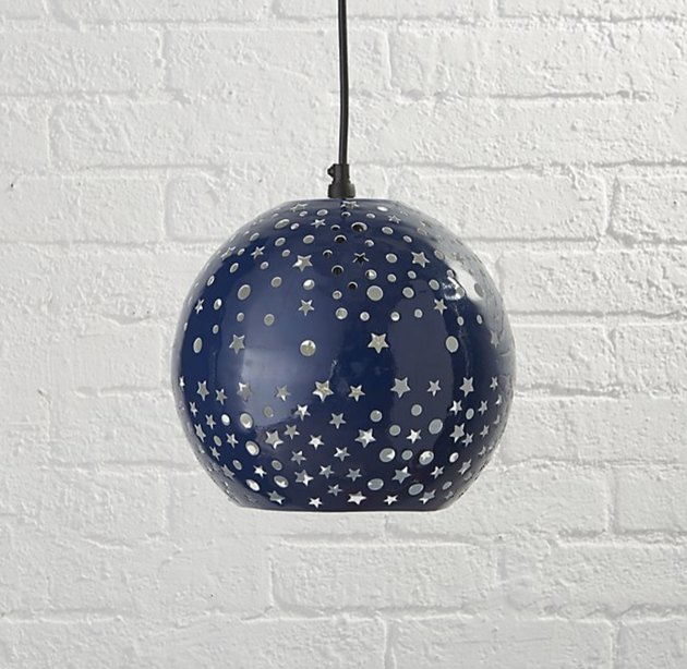 starry night pendant light