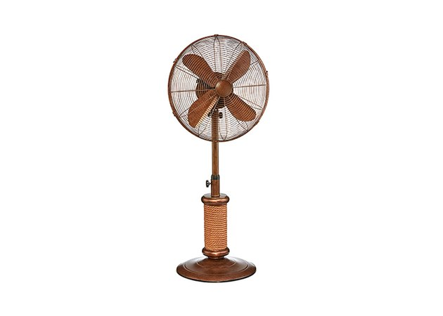 DecoBREEZE Adjustable Height Oscillating Outdoor Pedestal Fan