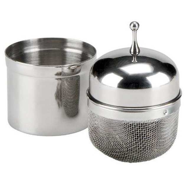 floating stainless steel tea infuser