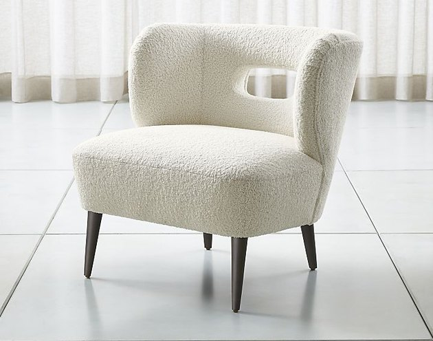 Mimi Vegan Lambskin Chair