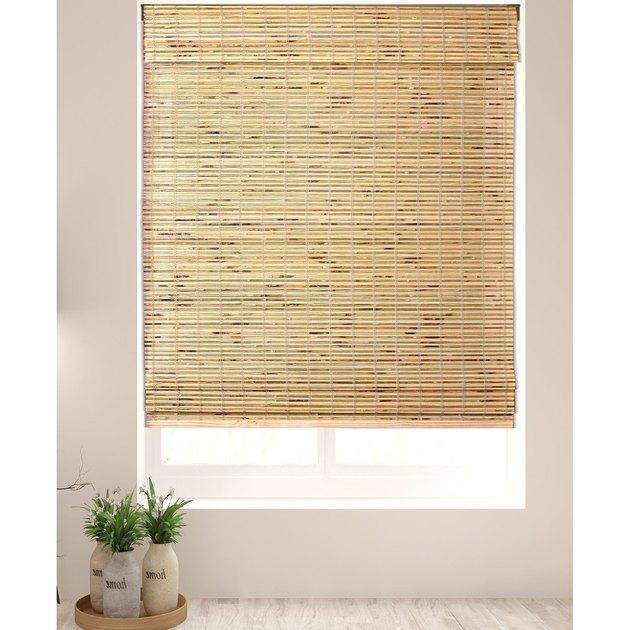 cordless lift bamboo shades
