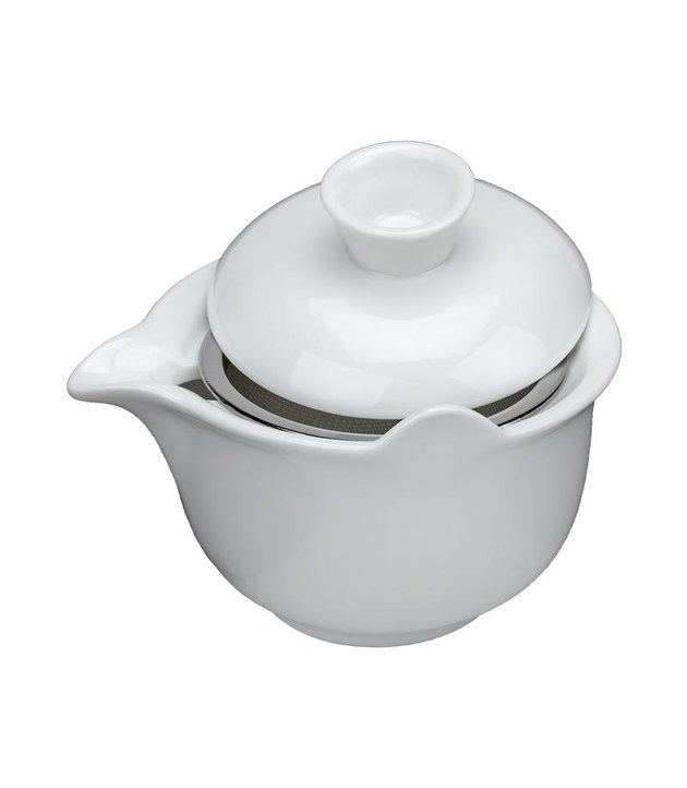 porcelain gaiwan tea infuser