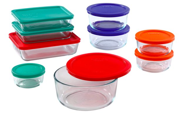 Pyrex Simply Store 10-Piece Glass Food Containers, $54.09