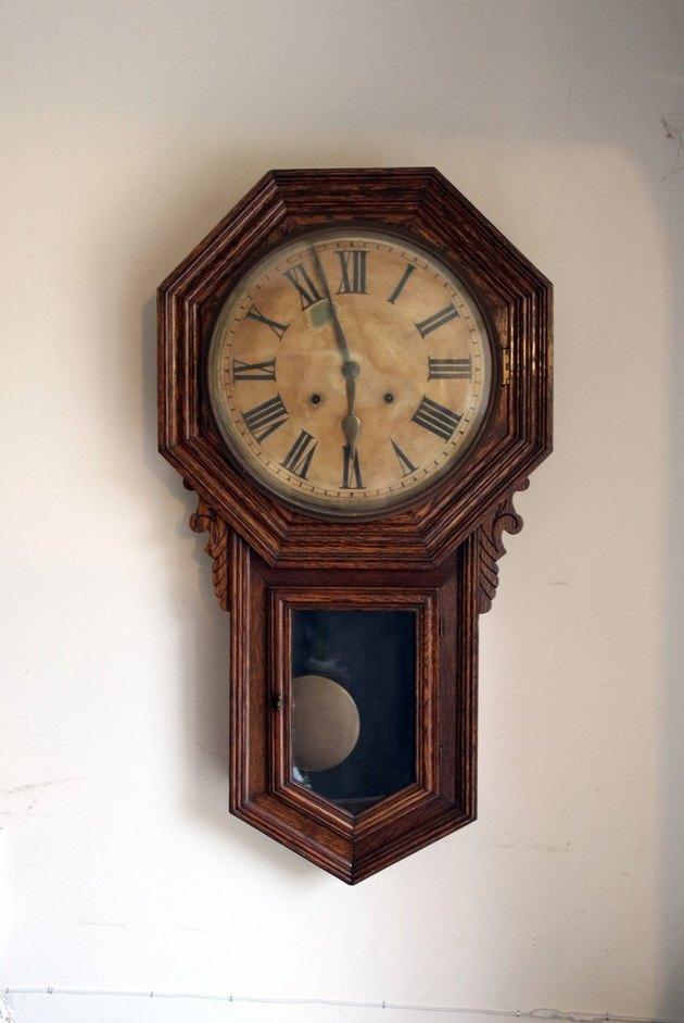 Antique Ansonia Clock, $145