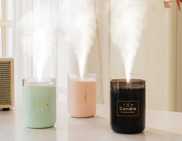 GeoxaralTreasures Candle Air Humidifier, $22.02