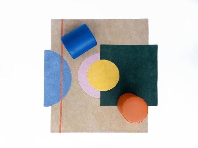 pieces rug