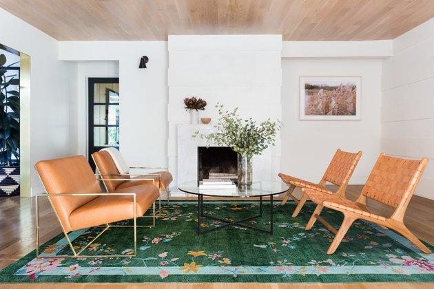 lulu and georgia green rug