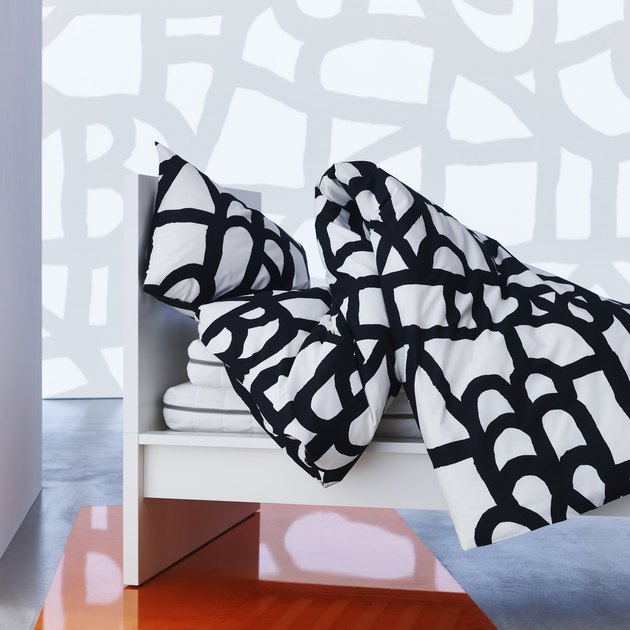 duvet cover and pillow