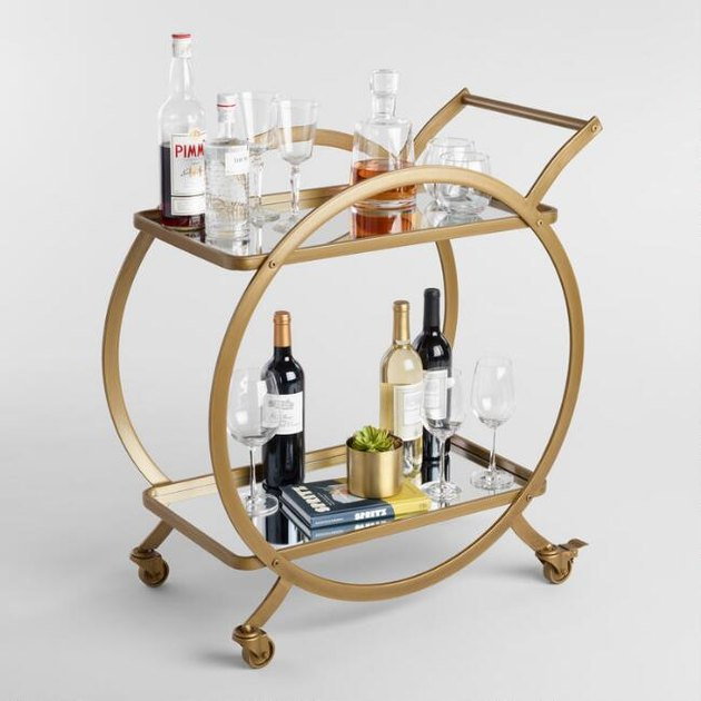 world market bar cart